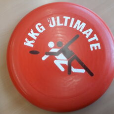 KKG-Ultimate-Frisbees mit eigenem Design